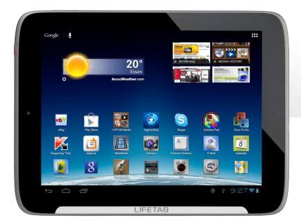 MEDION LIFETAB S9512 (MD 99200), mit 9,7 IPS Multitouch Display (B Ware) für 159€