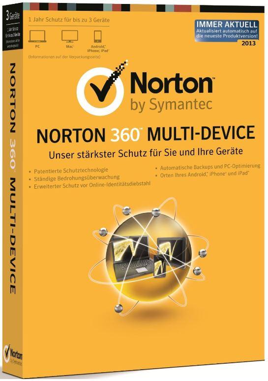 Norton 360 Multi Device für 3 Geräte bei den Amazon Blitzangeboten ab 18Uhr