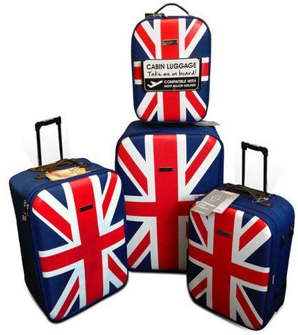 Trolley 4er Set   UK deSiGn Reisekofferset für 69,99€