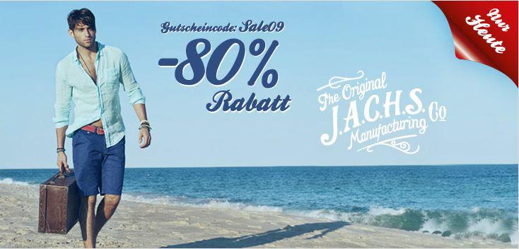 80% Rabatt auf die Marke Frank NY und J.A.C.H.S