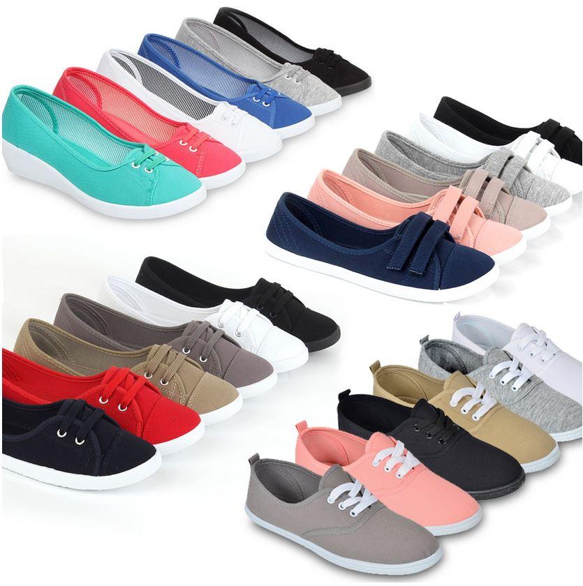Damen Sommer Sneakers, je Paar für 13,90€