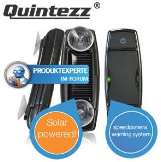 SPY Blitzer Warnsystem mit GPS Empfänger, SIRF III Antenne und Solarpanel für 35,90€