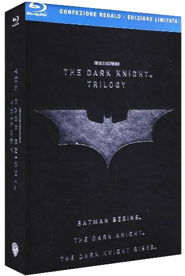 Vorankündigung! The Dark Knight Trilogy Blu ray Box nur 27,45€