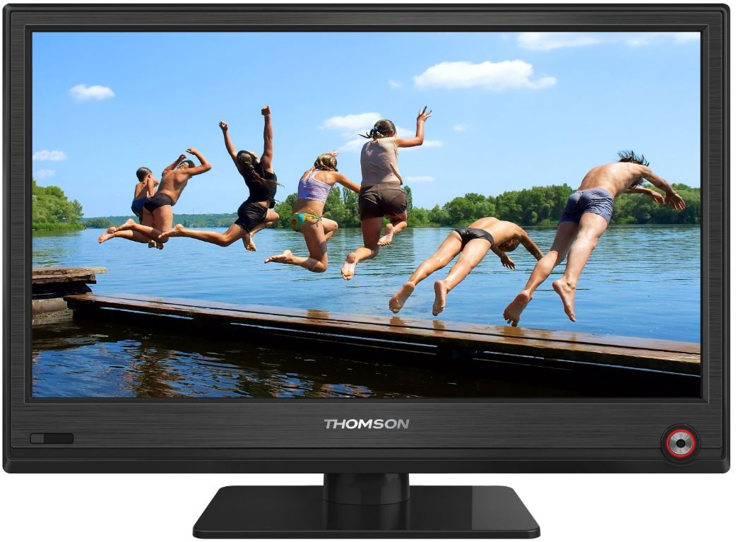 Thomson 24HU5253, 24 Zoll TV mit DVB C/T und USB 2.0 für 166€