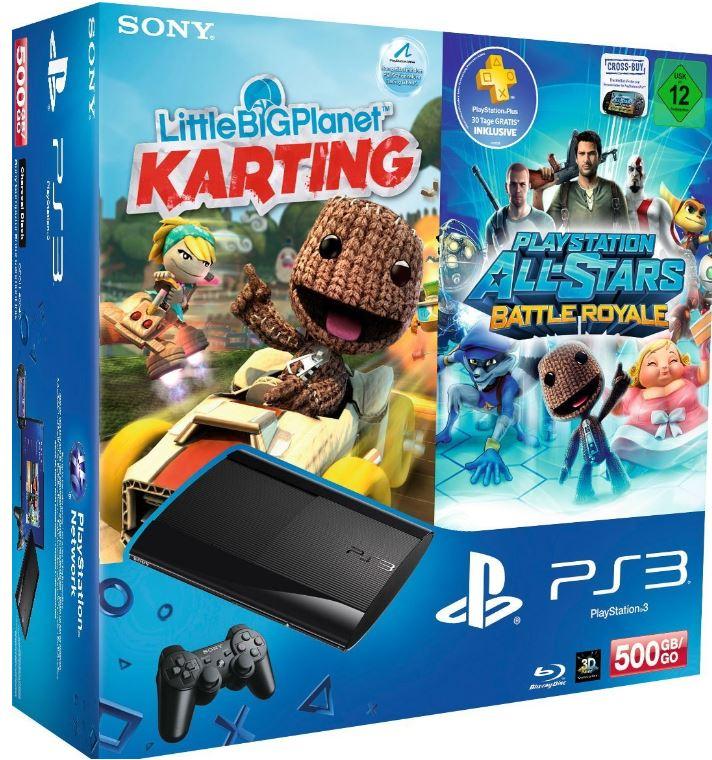 PlayStation 3 Konsole mit 500GB im Bundle für je 249€