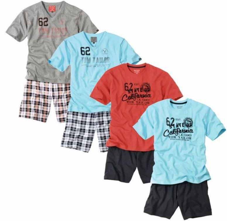 Tom Tailor Schlafanzüge in verschiedenen Farben für je 27,90€