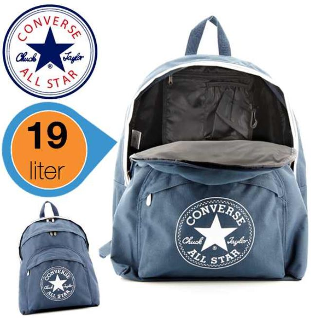 Converse All Stars Rucksack in dark denim blau für 25,90€