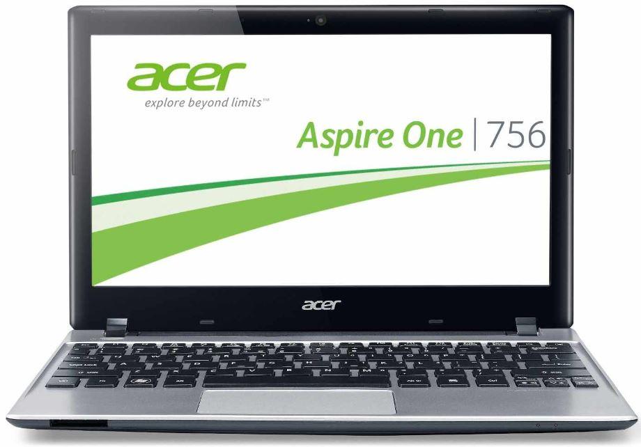 Acer Aspire One 756, 11,6 Zoll Netbook mit Intel 987, 500GB HDD und Win 8
