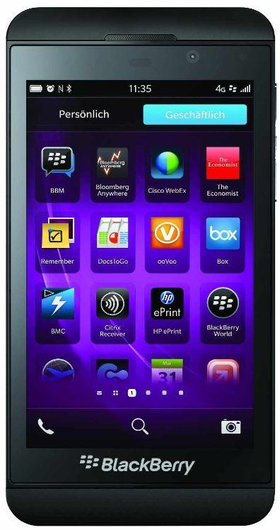 Preisfehler? BlackBerry Z10 Smartphone für 351,45€