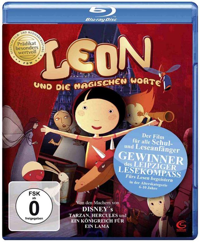 Leon und die magischen Worte, sehr guter Kinderfilm auf Blu ray für nur 4,97€
