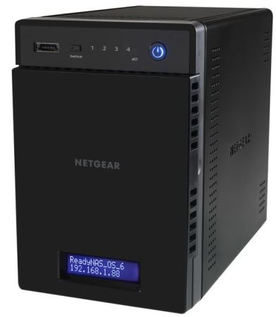 NETGEAR ReadyNas 104 Home NAS für 158€   Update