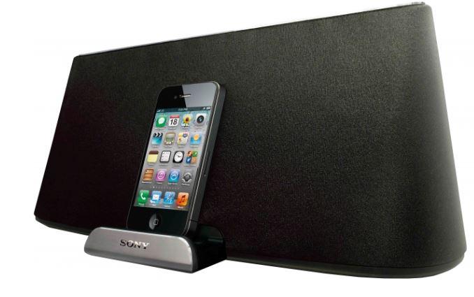 Sony RDP XA700iP, Airplay Lautsprecher mit iPod Dock für 199€
