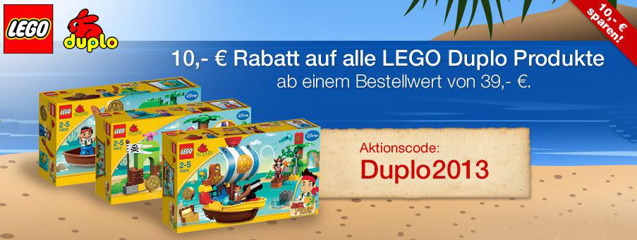 10€ auf Lego und Duplo Artikel bei Galeria Kaufhof