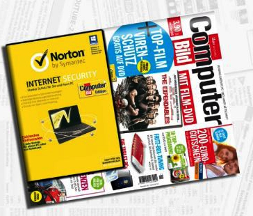 Tipp! Norton Internet Security ab 3,90€ Morgen bei Computer Bild!