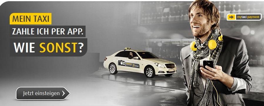 5€ mytaxi Gutschein   für 5€ kostenlos Taxi fahren   Update!