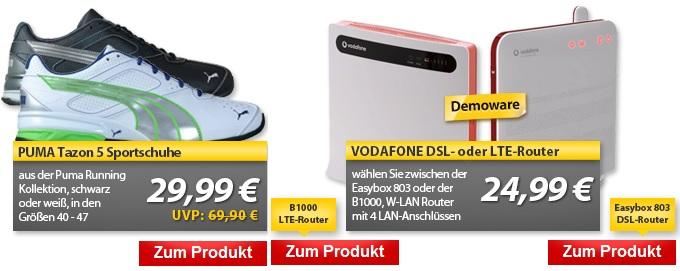 PUMA Tazon 5 Schuhe & DSL  oder LTE Router (Easybox 803) (B1000)   OHA Deals