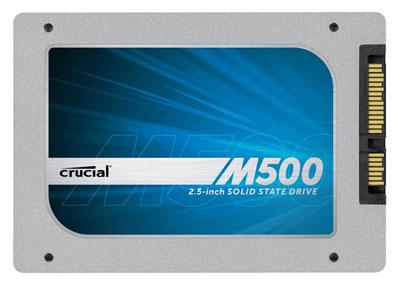 Crucial M500 2.5 SATA III 960GB SSD für 470€ bei MeinPaket mit Gutschein 7Prozent