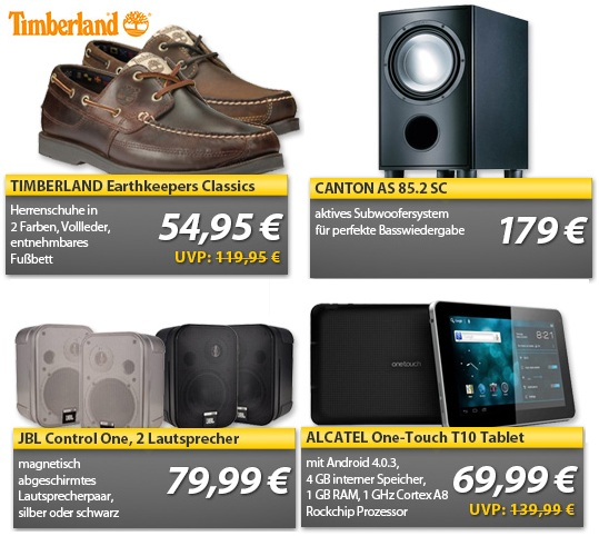 JBL Control One & ALCATEL One Touch Android 4.x Tablet   OHA Deals