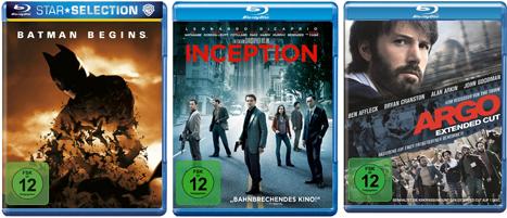 3 Blu rays mit guter Titelauswahl nur 25€ inkl. Versand