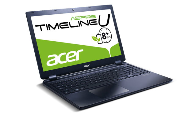 Acer Aspire Timeline M3 für 349€   Ultrabook mit i3 2377M, 4GB RAM, 500GB HDD