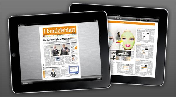 Handelsblatt ePaper 1 Jahr lang kostenlos