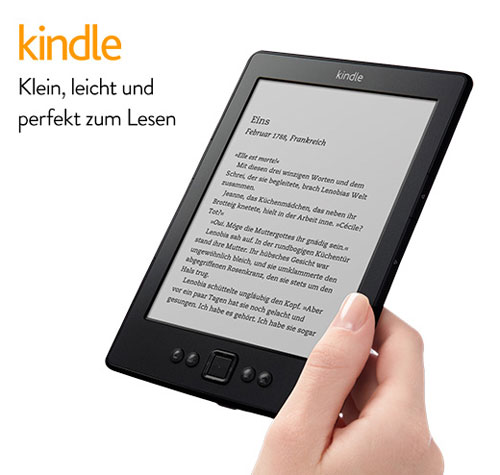 Kindle   6 e Book Reader mit WLAN ab 54€