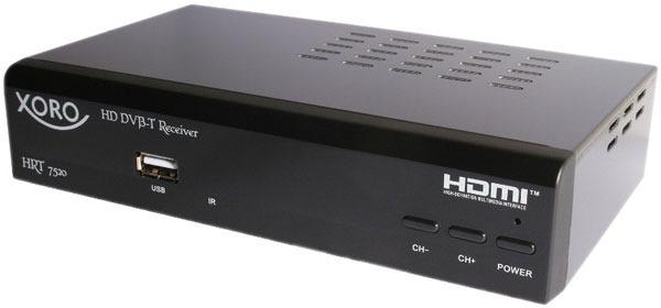 Xoro HRT 7520 für 19,99€   HD DVB T Receiver als B Ware