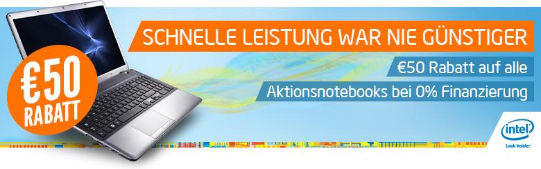 50€ Rabatt + 0% Finanzierung bei Notebooksbilliger.de   Günstige Ultrabooks