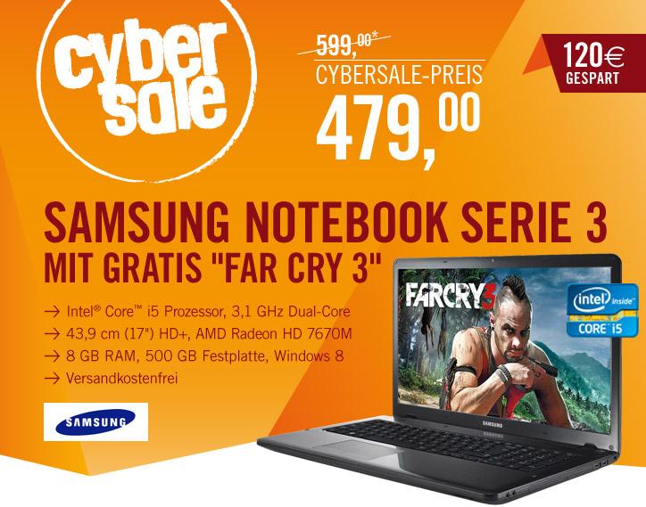 Samsung 350E7C S0B 17,3″ Notebook für 479€ statt 600€