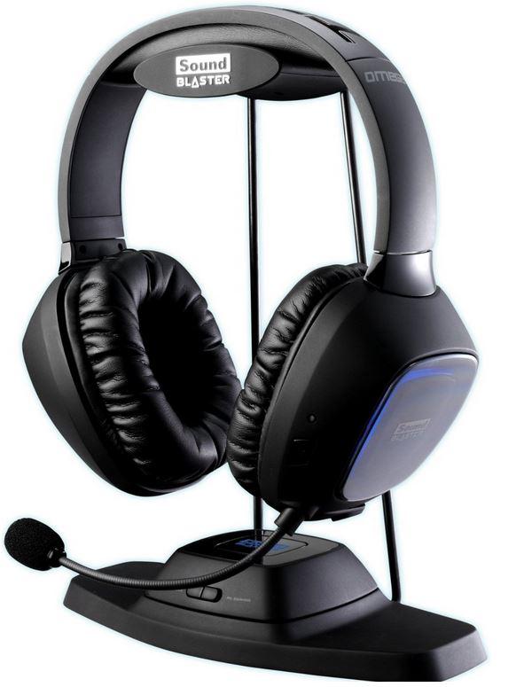 Creative Sound Blaster Tactic3D Omega Wireless THX Headset   PC, Xbox, PS3 für 99,99€