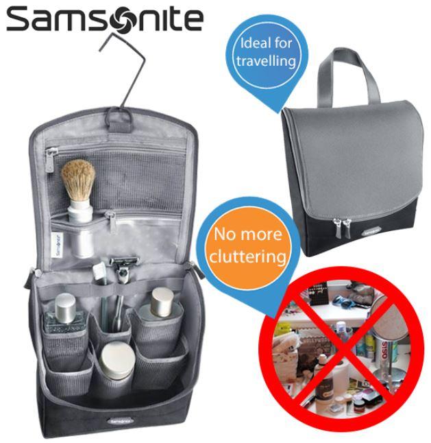 Samsonite Kulturtasche für 22,90€   wieder da!