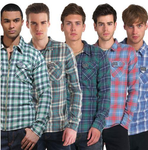 Superdry Herren Hemden, 5 verschiedene Modelle für je 33,45€