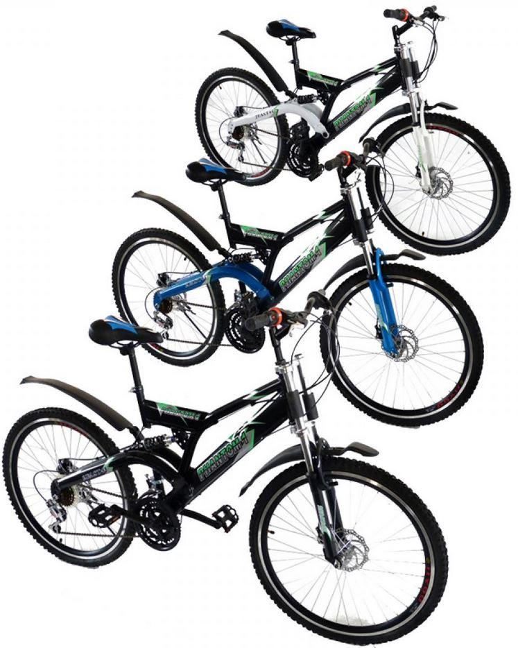 26 Zoll vollgefedertes Mountainbike mit 18 Gang Schaltung für 149€