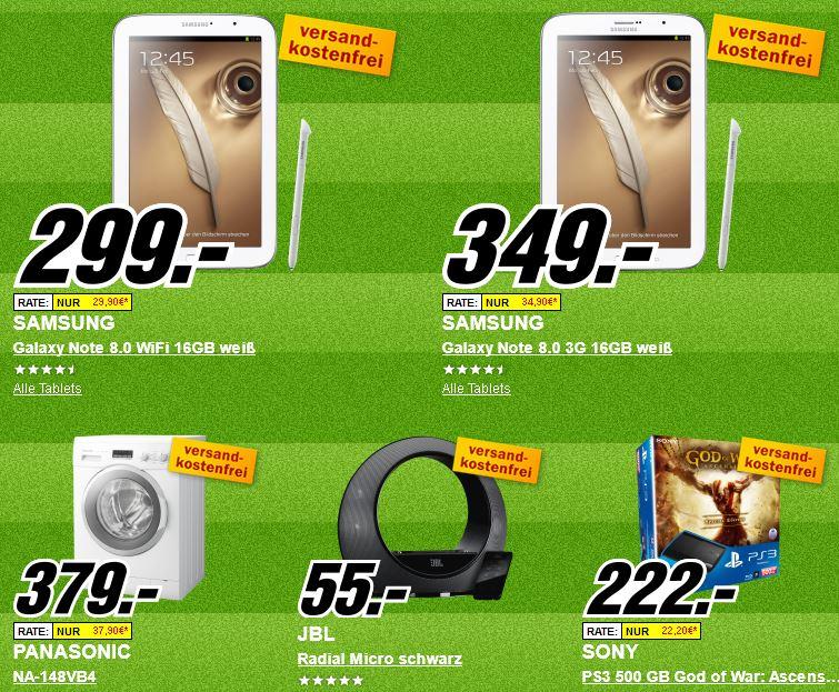 Update2! Platzverweis für teuer   Die heutigen Media Markt Angebote, z.B. AEG T65470AH1 Wärmepumpentrockner für 444€