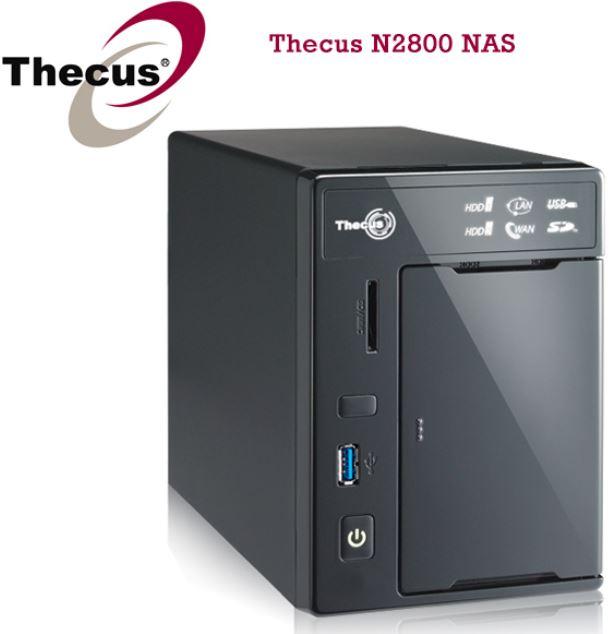 Thecus N2800 NAS Leergehäuse, inkl. Versand 278,90€