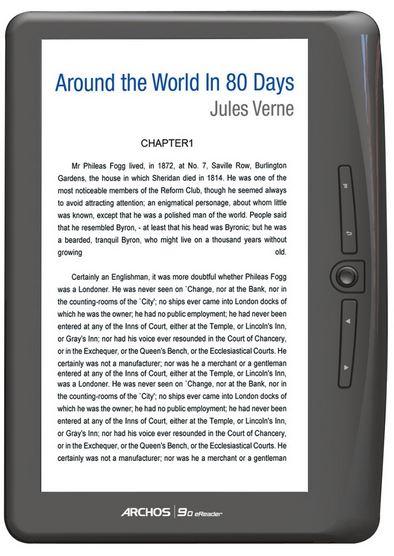 Archos 90 eReader mit 9 Zoll Farb TFT Display, für 49,99€
