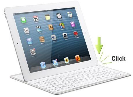 ARCHOS Bluetooth Tatstatur und Cover für Apple iPad nur 49,99€