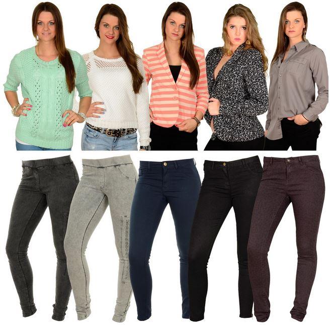 Vila   Damen Shirts, Blazer und Hosen für je 22,90€