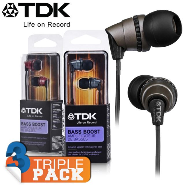3er Pack TDK Life on Record EB410 In Ears für 25,90€