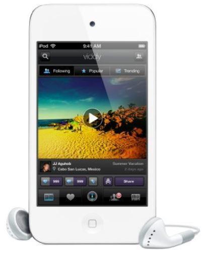Apple iPod Touch 4G 16GB weiß als Amazon Blitzangebot 10Uhr