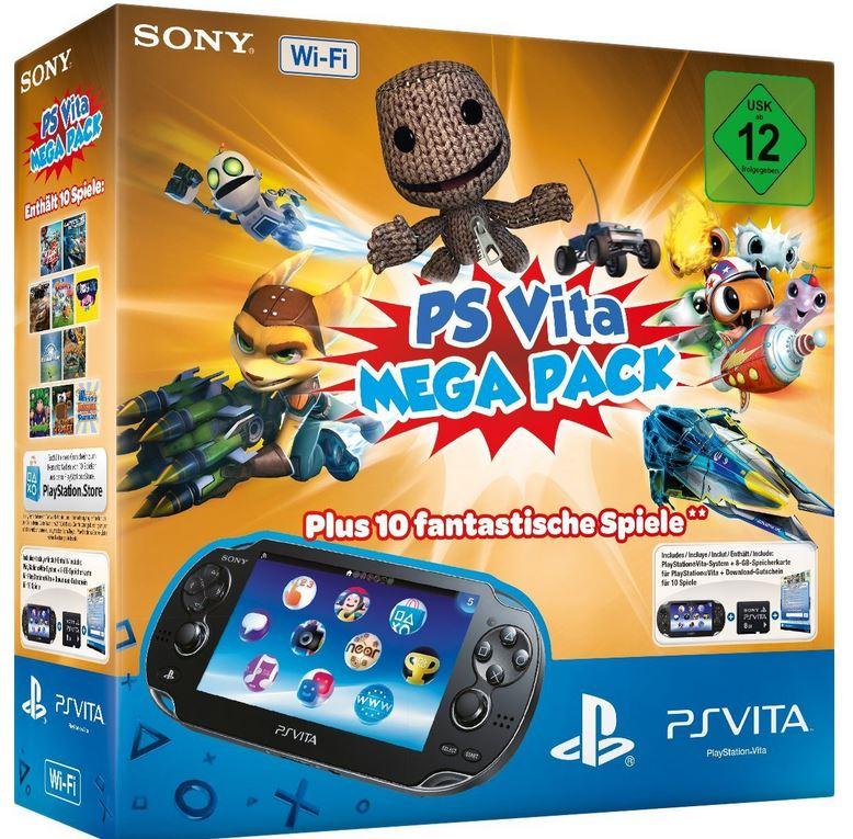 Sony PlayStation Vita Konsole + 10 Spiele ab 93,51€   Update