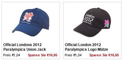 Caps und AdidasT Shirts ab je 1,04€ + verschiedene Gutscheine bei MandMDirect