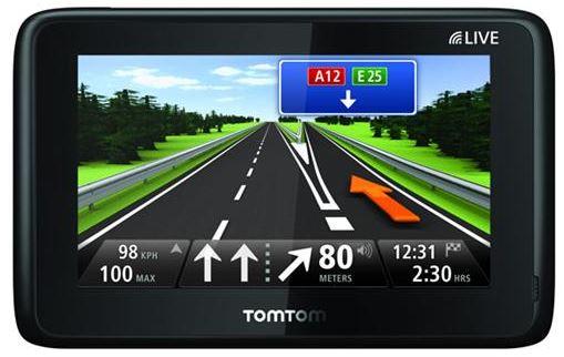 TomTom Go Live 1000 EUROPA HD Traffic Navi mit OVP Freisprechen für 139€