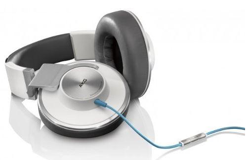 AKG K551WHT, Over Ear Kopfhörer mit Apple iPhone Steuerung und Mikrofon für 168,09€