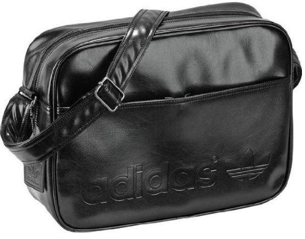Adidas Schultertasche Airline Bag Perf, in zwei Farben für je 27,95€