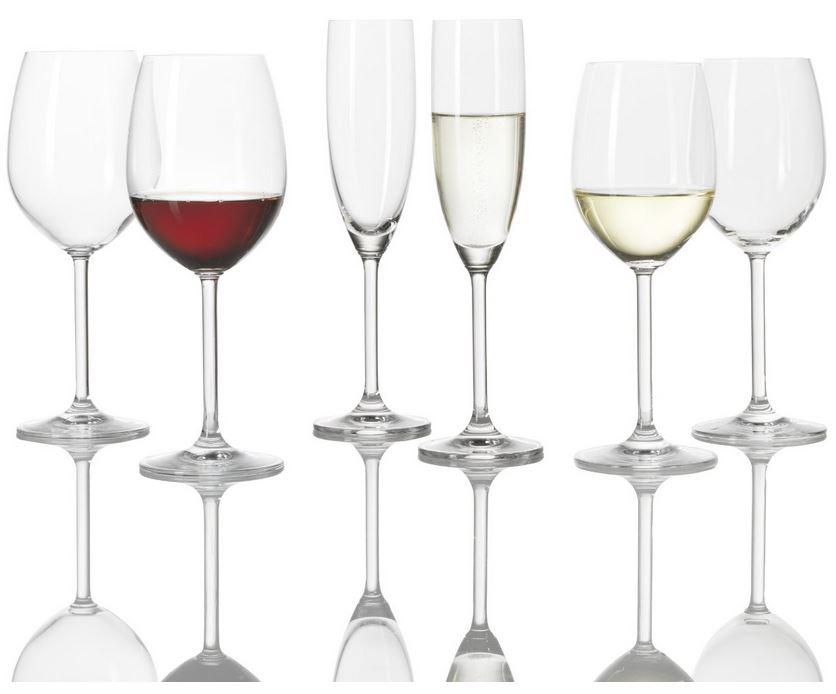 Leonardo 017543 Kelchglas Norma, 18 teilig Set für 31,95€
