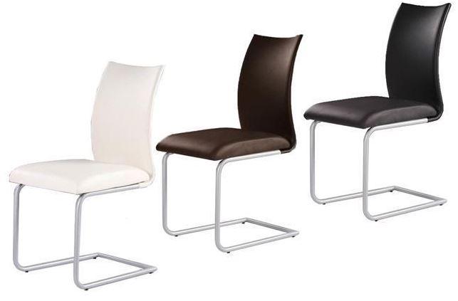 4 x MILA Freischwinger Stühle zusammen für 99€