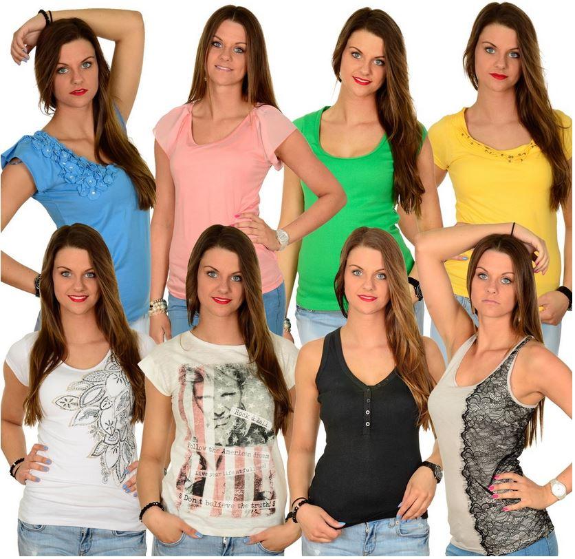 EMOI Damen Sommer Shirts, Tops und T Shirts für je 9,95€