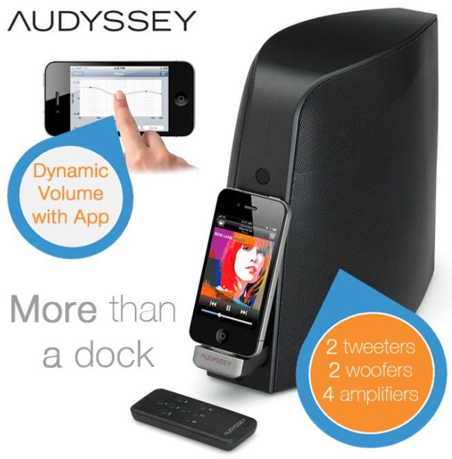 Audyssey South of Market, Bluetooth Lautsprecher und iPhone Dock für 145,90€