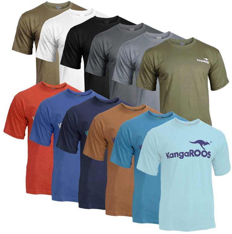 KangaROOS T Shirts   2er Pack für nur 12€
